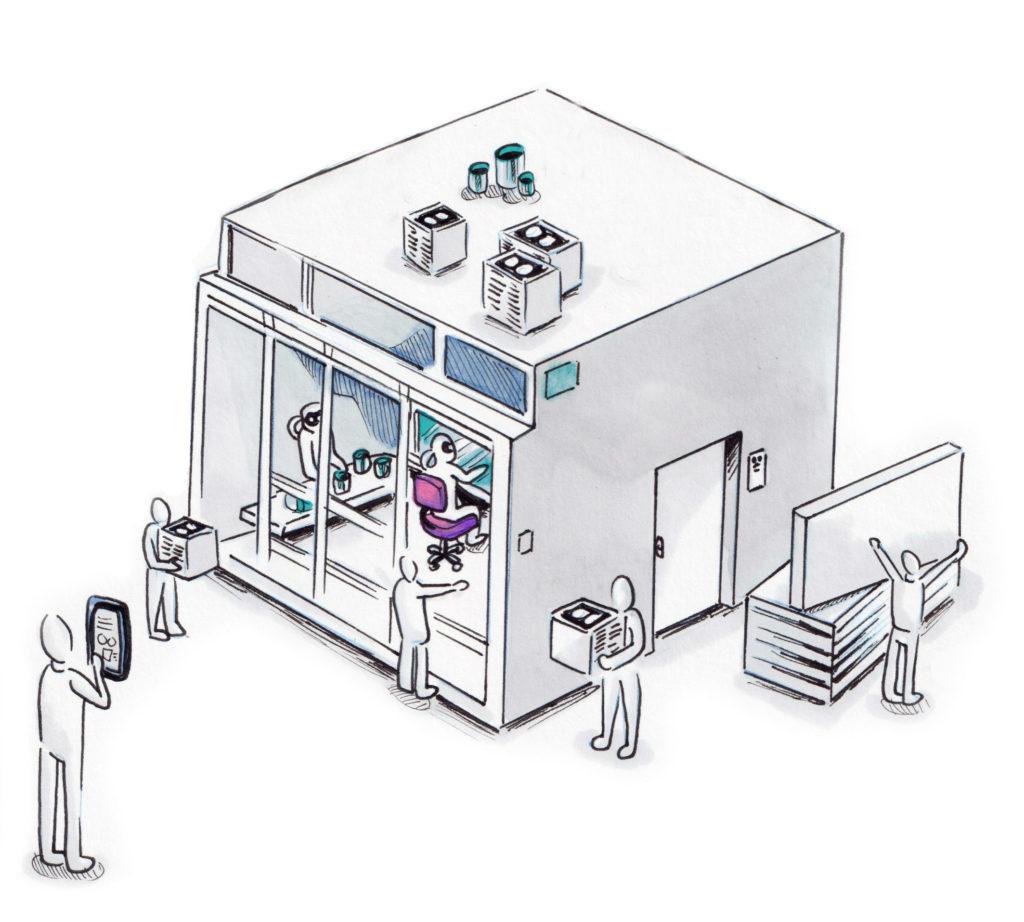 Lab'Science, le fabricant de salles blanches modulaires